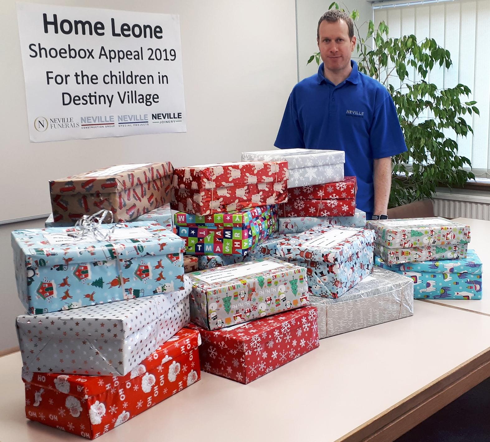 Home Leone Shoebox Appeal – Update