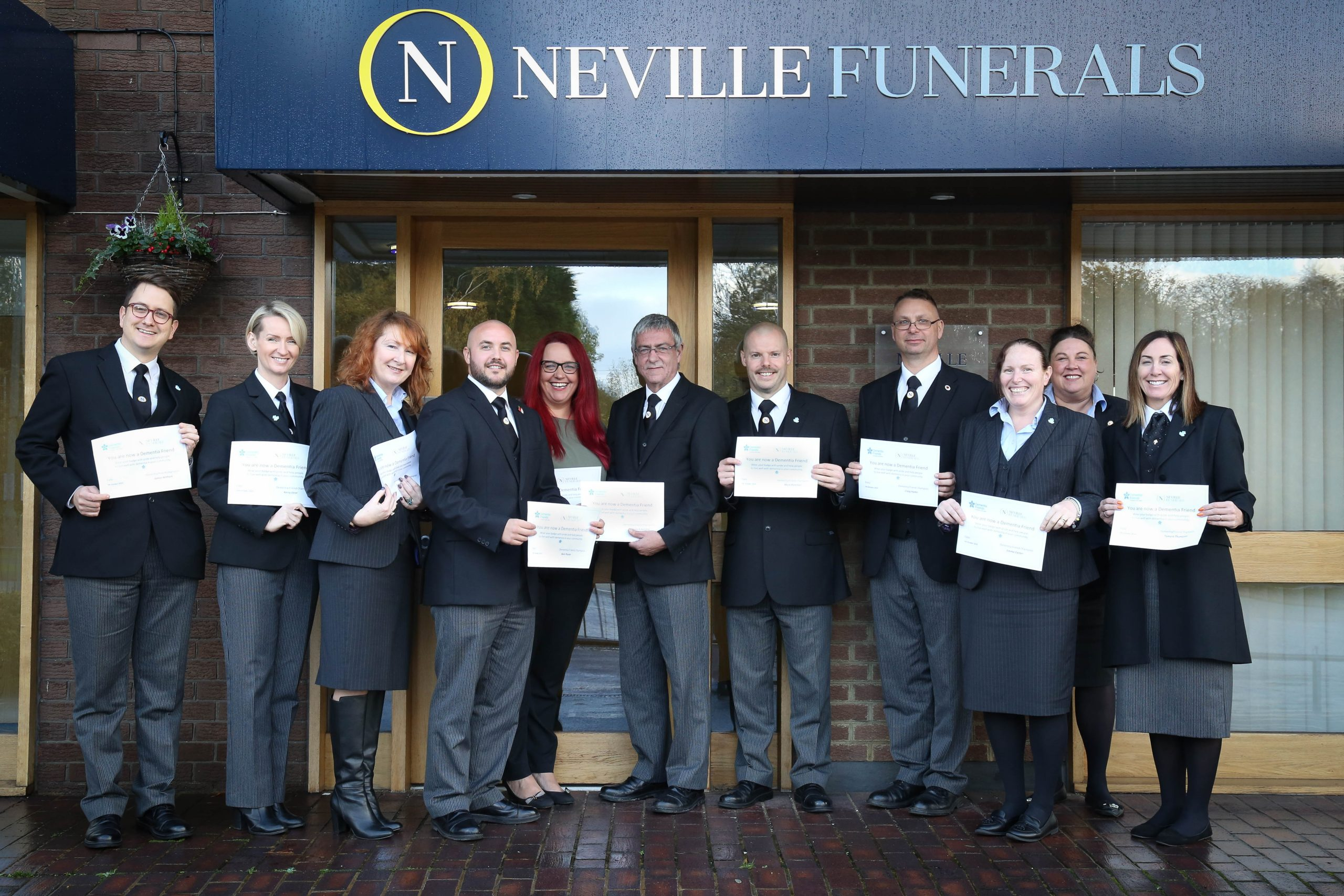 Dementia Friendly Funeral Directors