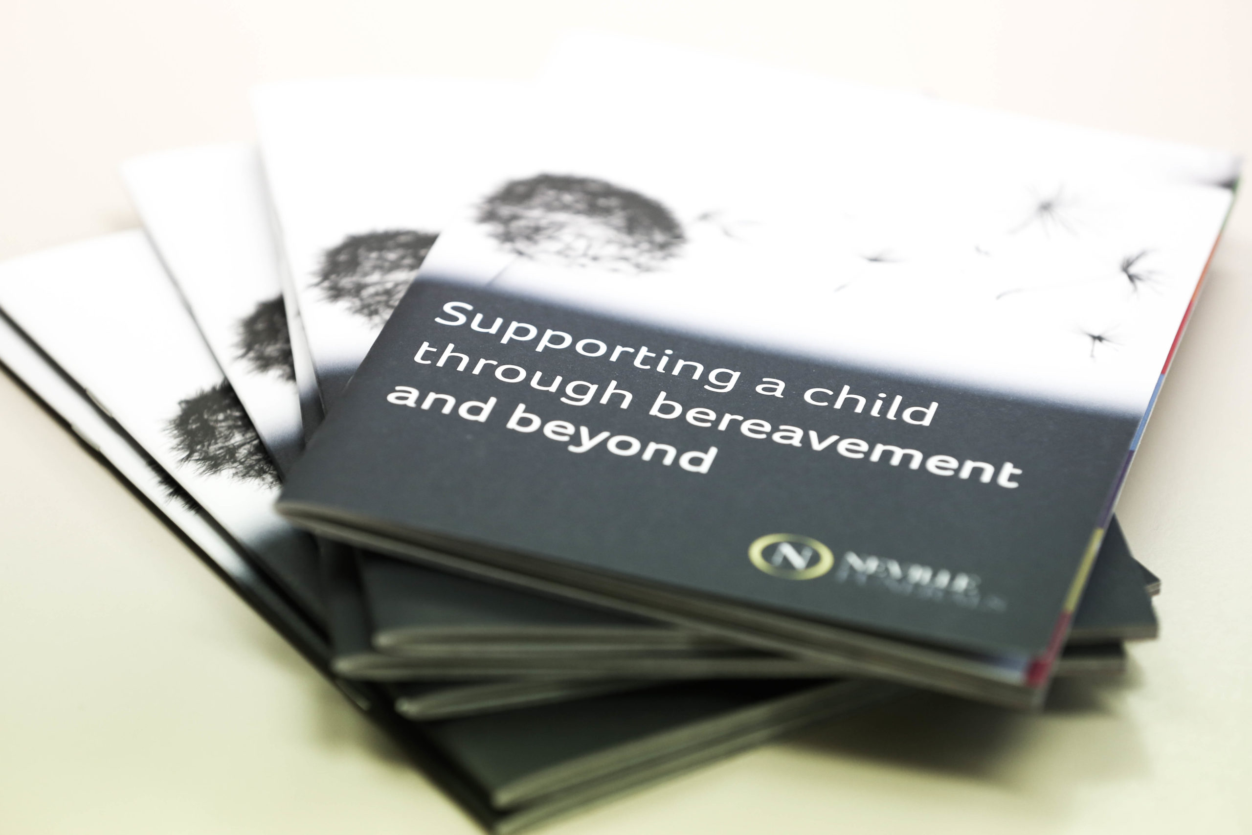 Child Bereavement Booklet delivered to Schools