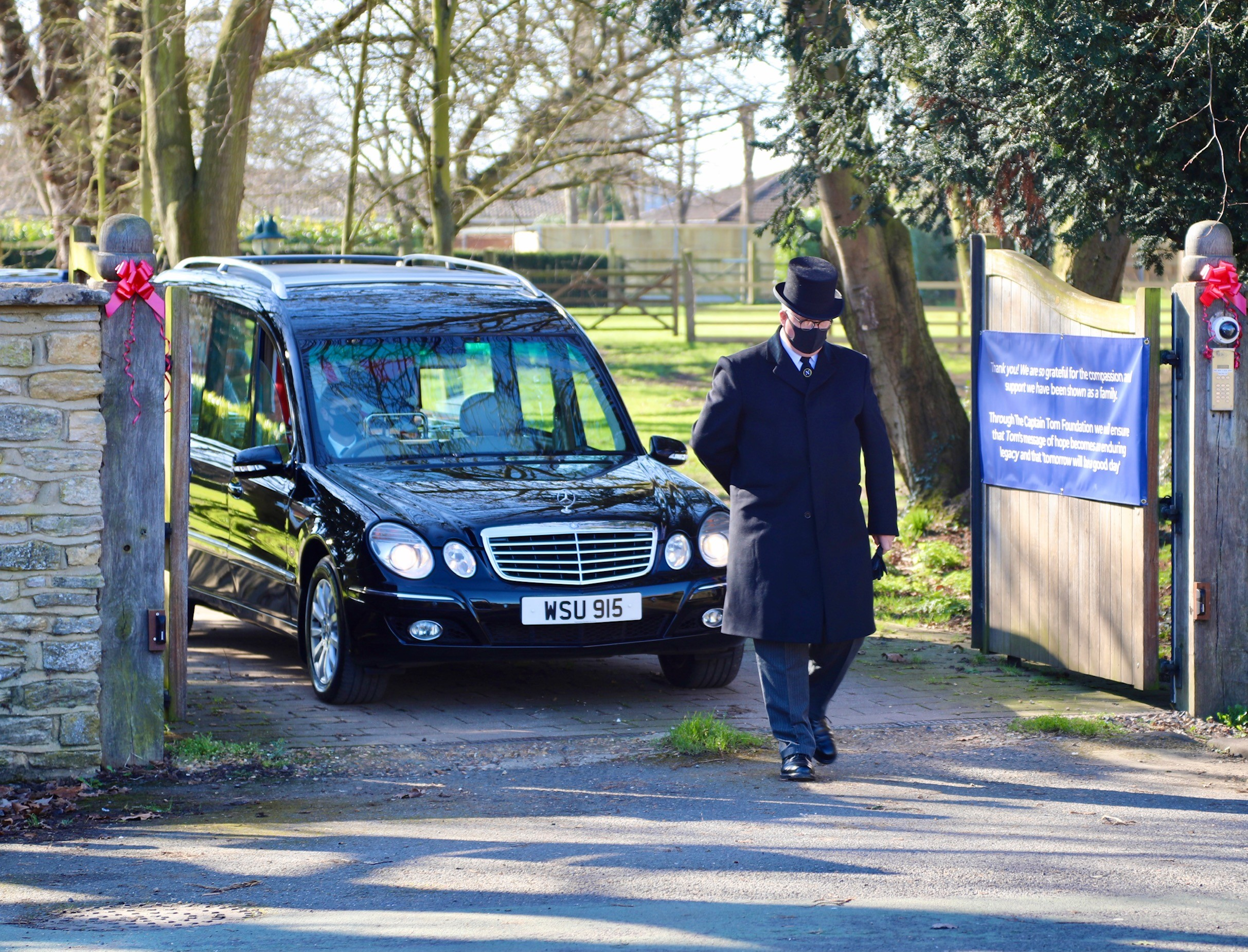 Neville Funerals Helps with Family's Final Farewell to Captain Sir Tom Moore